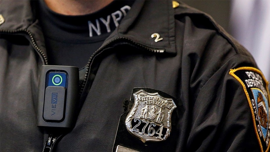 New York City Mayor Bill de Blasio announced Tuesday that NYPD patrol officers would have body cameras this year.