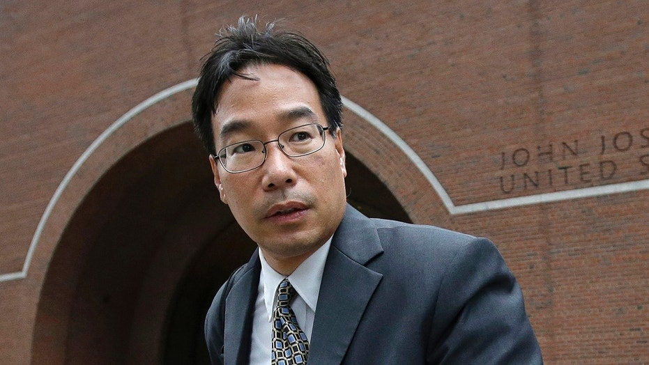 Glenn Chin, supervisory pharmacist at the now-closed New England Compounding Center, was sentenced to eight years in prison for a deadly 2012 meningitis outbreak. (AP Photo/Steven Senne, file)
