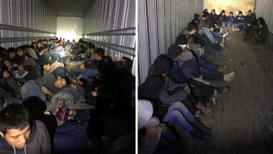 Law enforcement busted three smuggling operations that attempted to bring nearly 200 illegal immigrants combined into the U.S.