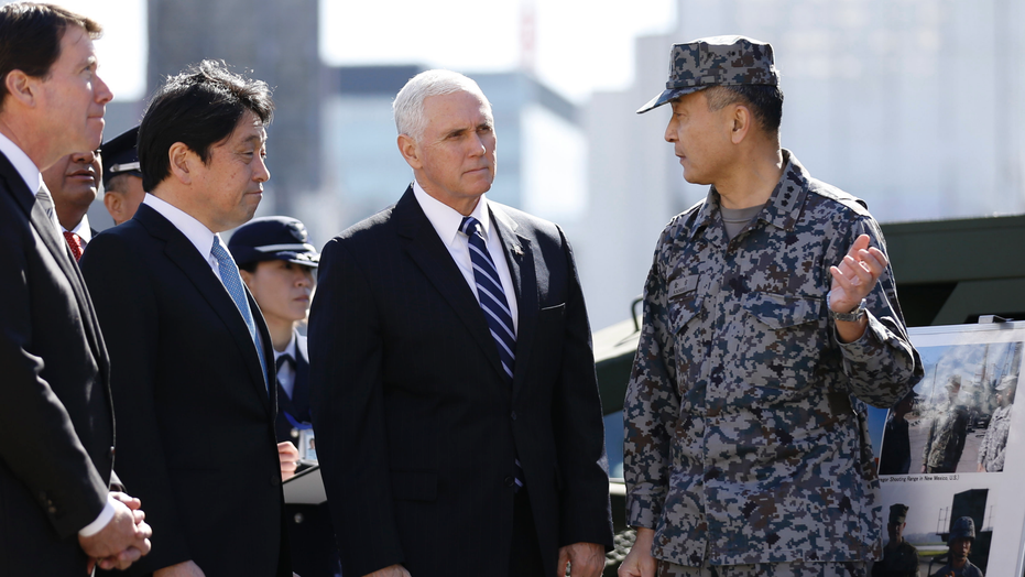VP Pence arrives in Alaska for brief visit