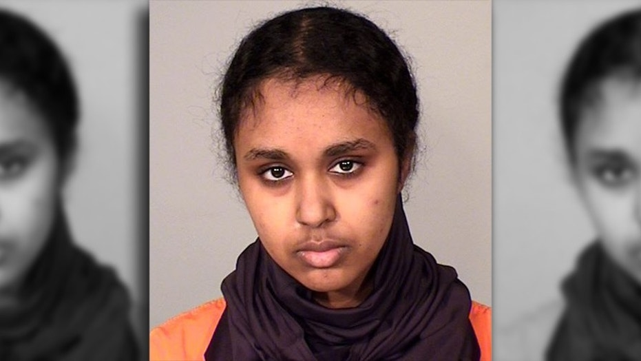 Tnuza Jamal Hassan, 19, was charged with terrorism Wednesday in federal court after prosecutors allege she attempted to provide material support to Al Qaeda.