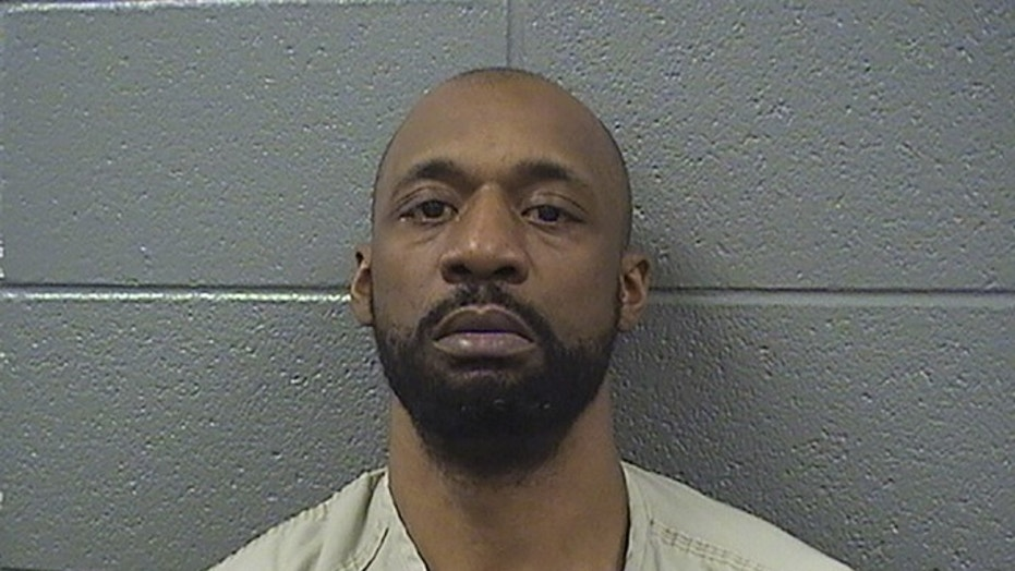 Shomari Legghette, 44, is accused of fatally shooting a Chicago police officer.