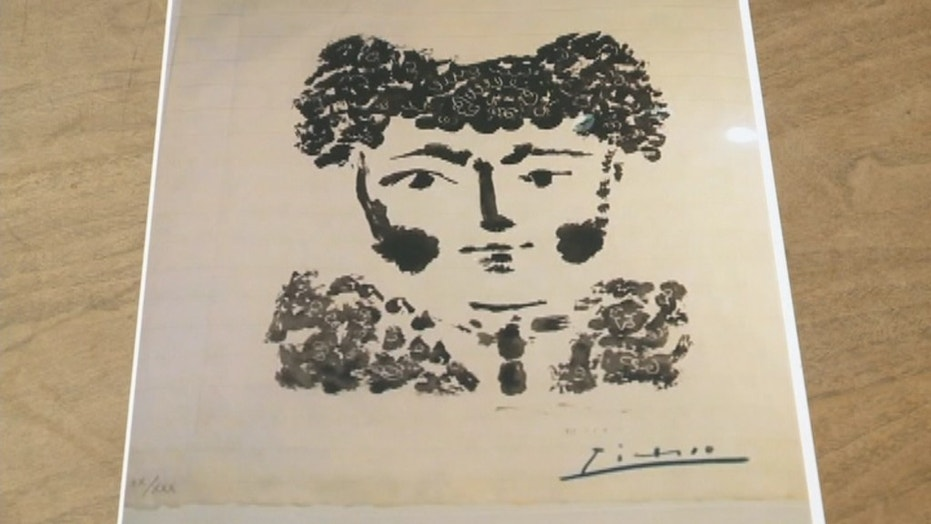 A 1949 Picasso print was stolen from a Milwaukee art appraiser on Friday.