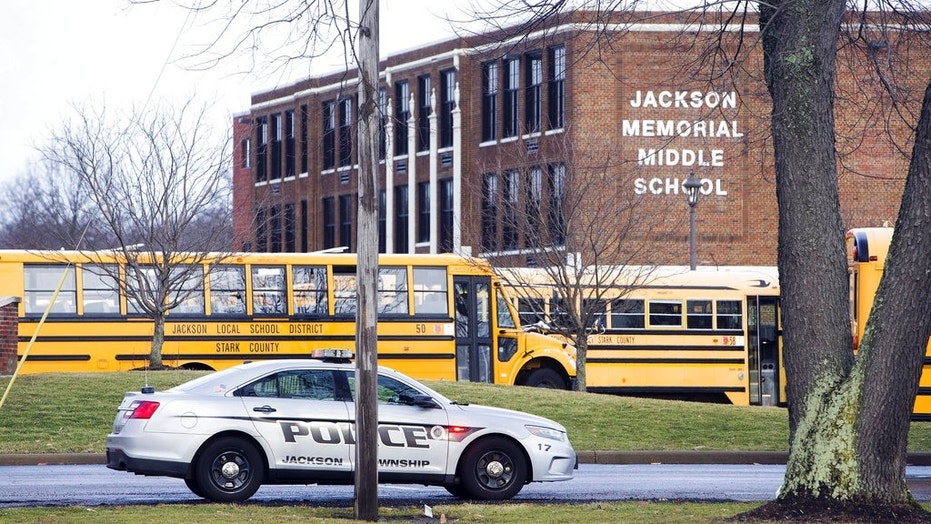 A school official in Ohio says a middle school student apparently shot himself after bringing a gun to school.