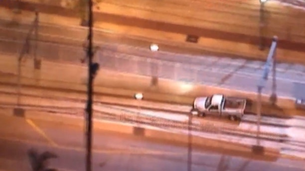 Wild California police chase ends after driver detours into train tunnel