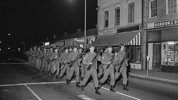 SC National Guard Troops in Orangeburg, SC