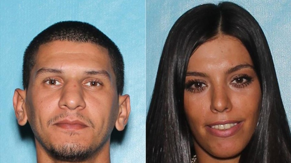 Marwan Al Ebadi and Salma Hourieh are facing shoplifting, trespassing, and drug charges. Both were on the run from police in Arizona — only to get arrested when they were found running into the parking lot of a police precinct.
