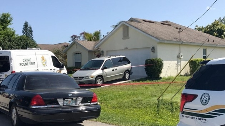 Three dead bodies were found in Port St. Lucie, Florida, on Wednesday, each within minutes of each other, police said.