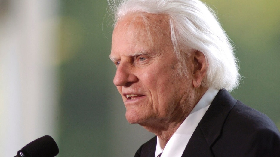 Rare Capitol salute for Rev. Billy Graham