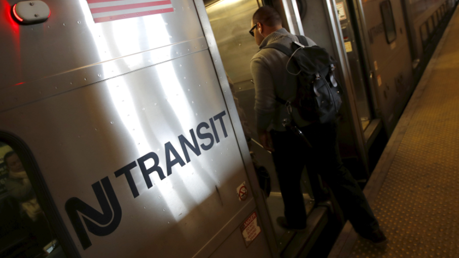 NJ Transit Conductor Suspended After 'Illegals' Announcement