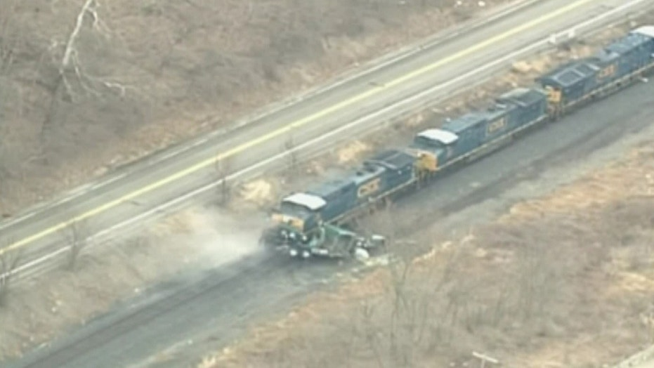 Train, Truck Acid Spill: Collision Spark Evacuations