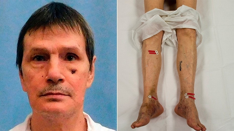 Doyle Lee Hamm has argued his veins were too damaged for lethal injection. His execution was halted late Thursday when medical staff didn't think they had time to connect an intravenous line by the time a death warrant expired.