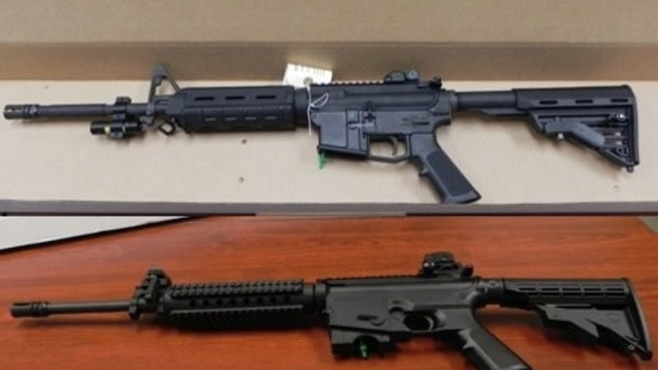 The feds said they seized 20 firearms as part of the drug cartel bust in California.