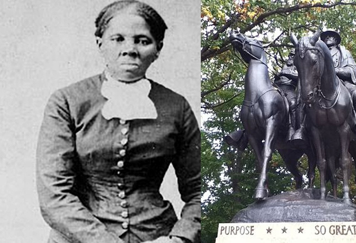 Park space honoring Confederacy rededicated to Harriet Tubman in Baltimore