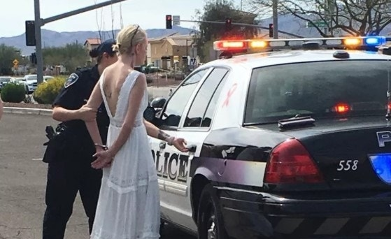 Bride driving to her wedding arrested for DUI