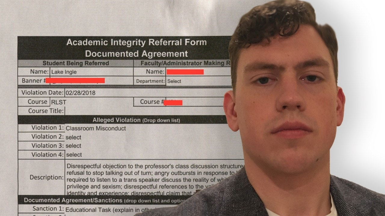 College student kicked out of class for telling professor there are only two genders