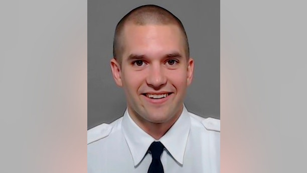 This undated photo provided by Dallas Fire-Rescue shows Officer Brian McDaniel who died in a helicopter crash Sunday evening, March 11, 2018, while on vacation in New York. McDaniel and several other passengers who died in the sightseeing helicopter were strapped in with tight safety harnesses when the aircraft plunged into New York City's East River after the pilot was heard on an emergency radio saying the engine had failed. (Dallas Fire-Rescue via AP)