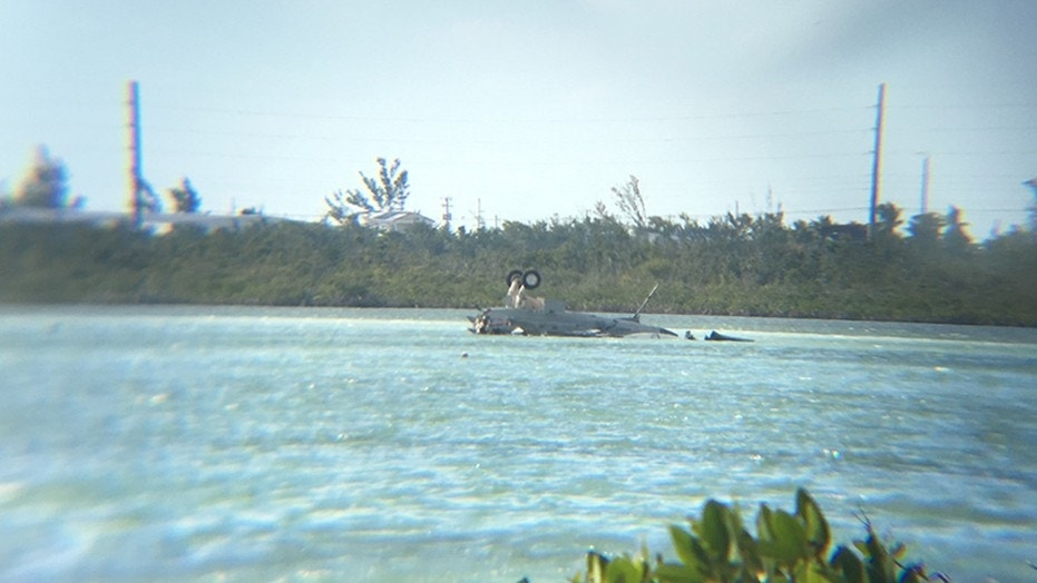 Navy fighter jet crashes off Key West