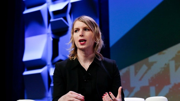 Chelsea Manning speaks at the South by Southwest festival in Austin, Texas, U.S., March 13, 2018.  REUTERS/Suzanne Cordeiro - RC1519C037E0
