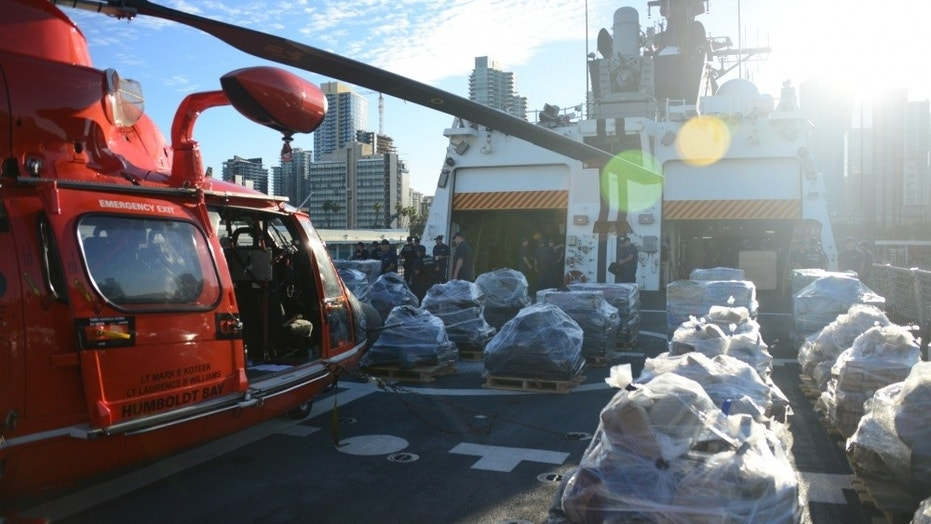 Coast Guard seizes 36000 pounds of cocaine in Eastern Pacific Ocean