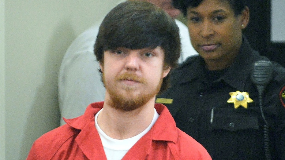 "Ethan Couch, the ""affluenza teen,"" at his adult court hearing on April 13, 2016 in Fort Worth, Texas."