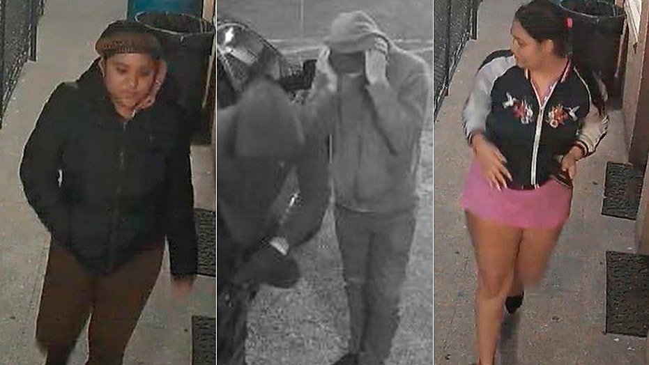Police are looking for at least 5 people involved in a theft in New York City.