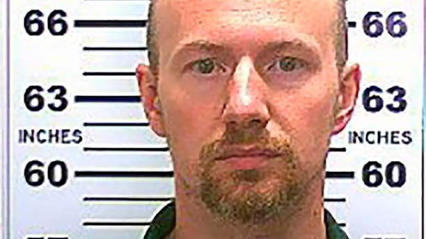 Inmate David Sweat, 35, is seen in a picture taken in May, 2015, from the U.S. Marshals Service. The U.S. Marshals Service has put escapees Sweat and Richard Matt on its 15 Most Wanted Fugitives List and authorities on Friday pressed on with a widened search encompassing the entire country.  The two convicted murderers escaped from Clinton Correctional Facility in Dannemora, New York, on June 6.  REUTERS/U.S. Marshals Service/Handout   THIS IMAGE HAS BEEN SUPPLIED BY A THIRD PARTY. IT IS DISTRIBUTED, EXACTLY AS RECEIVED BY REUTERS, AS A SERVICE TO CLIENTS. FOR EDITORIAL USE ONLY. NOT FOR SALE FOR MARKETING OR ADVERTISING CAMPAIGNS - TM3EB6J0Y5301