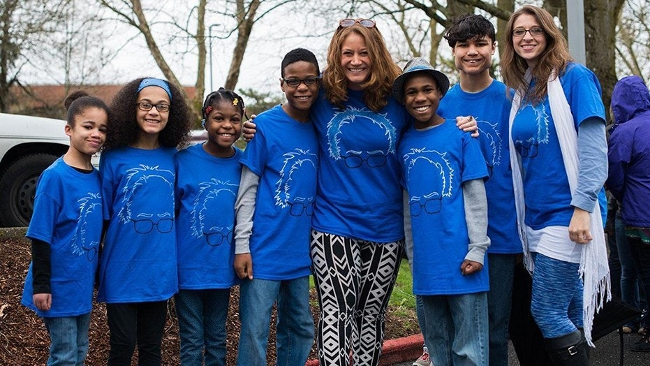 Investigators said the Hart family, seen here in 2016, is feared dead after an SUV crashed off a cliff in California.