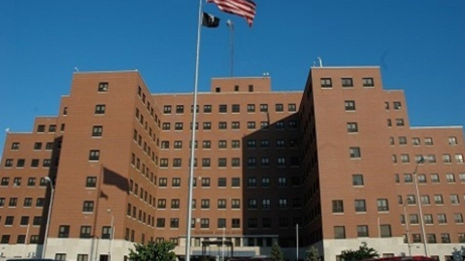 A 62-year-old veteran committed suicide Monday in the waiting room of a veterans affairs hospital, The St. Louis Post-Dispatch reported.