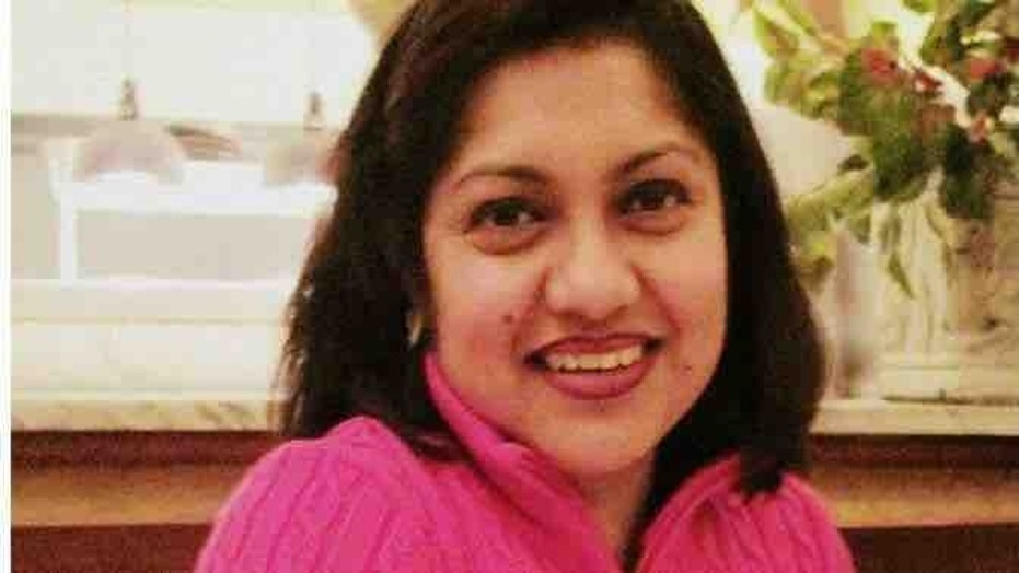 Amrita Dey was run over by her own car Tuesday morning in a tragic accident.