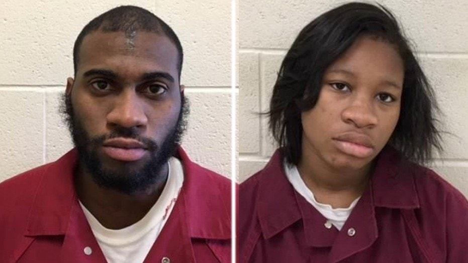 Keiff King, 26, (left) and Lisa Smith, 19, (right) have been charged with first degree murder in the death of Smith's 4-year-old son.