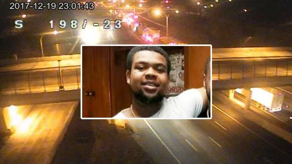Marquise Byrd, 22, of Warren, Mich., was killed when four teens threw a sandbag from an Ohio highway overpass last December.