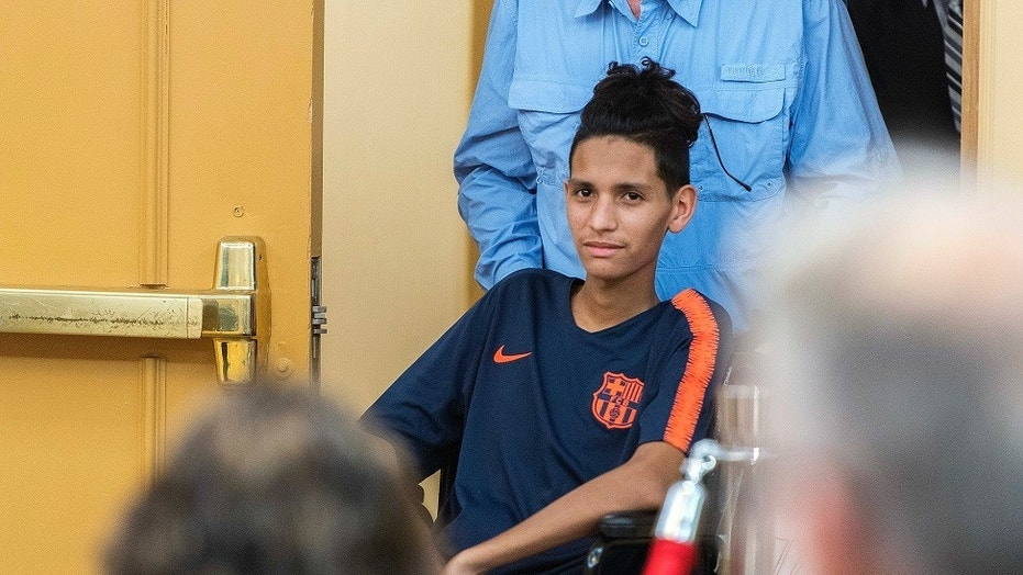 Anthony Borges, a student who was hailed a hero for shielding his classmates during the school shooting in February, criticized the school superintendent and county sheriff for failing victims of the attack.