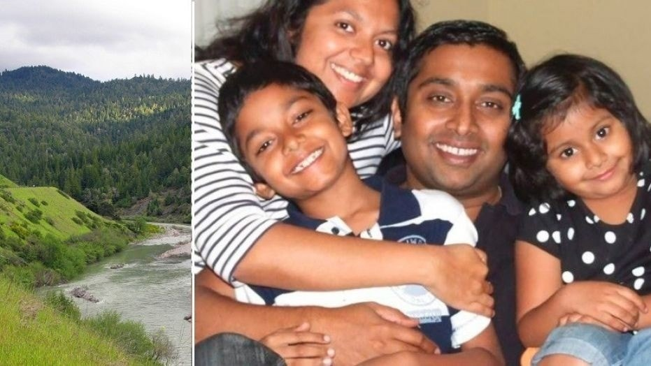 A family of four is missing in California, and authorities fear they may have driven into the Eel River while on a road trip.
