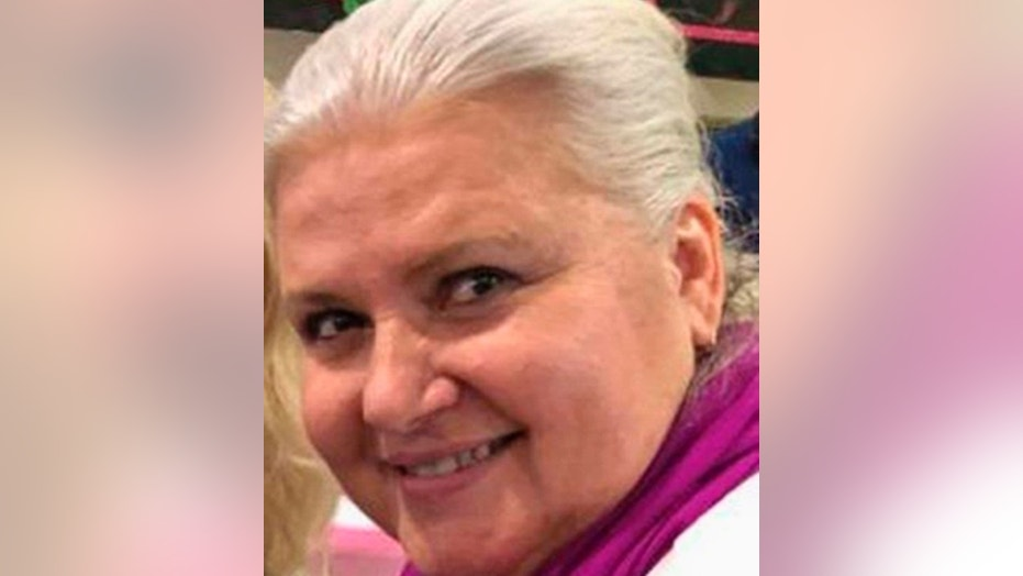 This undated photo provided by the Dodge County, Minn., Sheriff's Office shows Lois Riess, of Blooming Prairie, Minn., who is being sought in connection with the killing of a Florida woman.