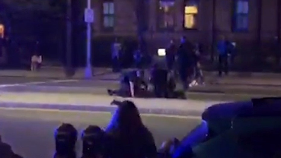 Video Allegedly Shows Police Officer Punching Harvard Student During Arrest