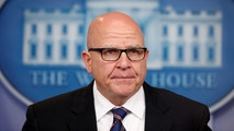 FILE PHOTO: White House national security advisor H.R. McMaster speaks to reporters in the White House briefing room in Washington, U.S., May 16, 2017.  REUTERS/Joshua Roberts/File Photo - RC1A9CCDB200