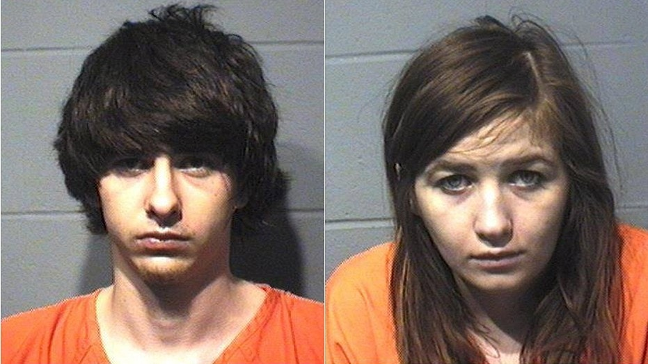21-year-old Jacob R. Hellenbrand (left) and 21-year-old Olivia J. Boomsma (right) are facing felony charges for battery to a law enforcement officer and resisting arrest.
