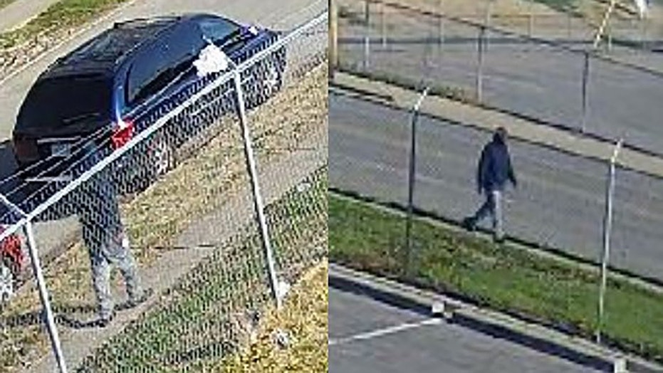 Police released a photo of a person of interest: a black male, about 25 to 30 years old, wearing a dark-colored hoodie with gray pants.