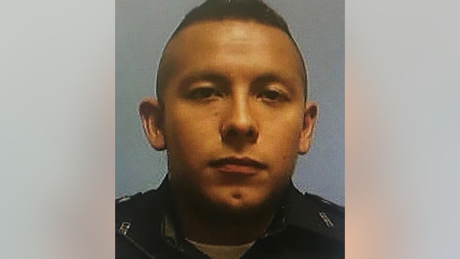Dallas police Officer Rogelio Santander died at a Texas hospital Wednesday morning.
