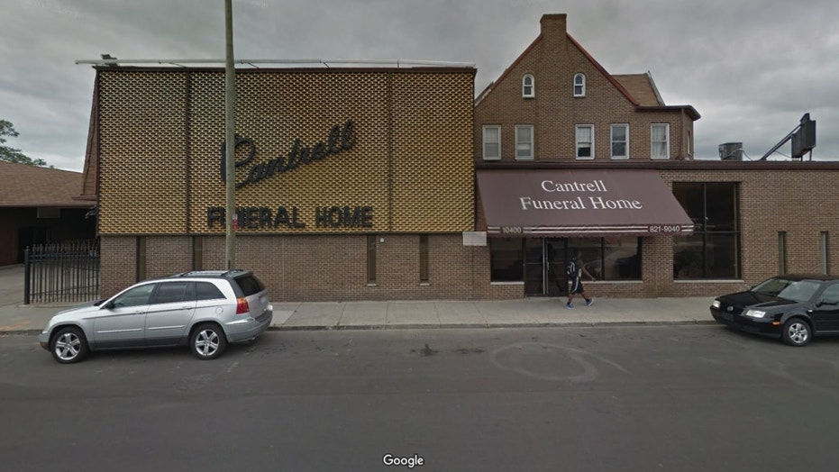 """A Detroit funeral home was ordered to close after state inspectors said they found """"deplorable, unsanitary conditions and other violations."""""""