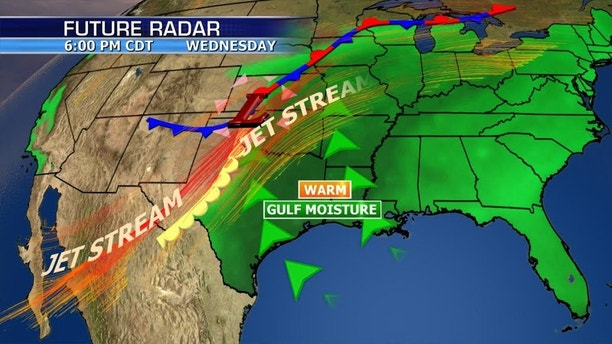 Active weather pattern will last through Thursday with strong storms very likely