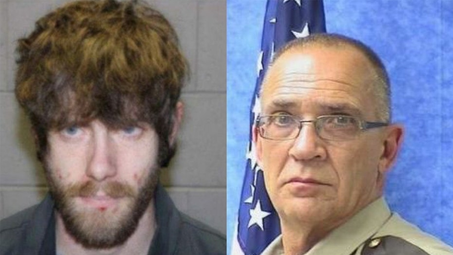 John Williams, left, is accused of killing Somerset County Cpl. Sheriff Eugene Cole in Maine.