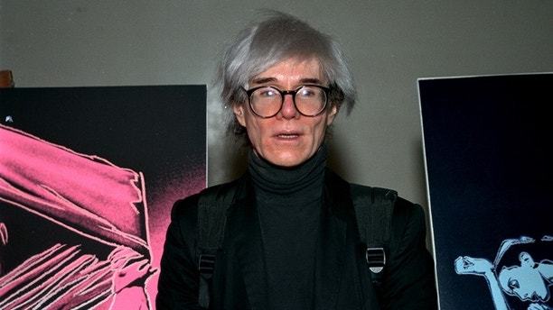 Pop artist Andy Warhol is shown in 1987. (AP Photo)