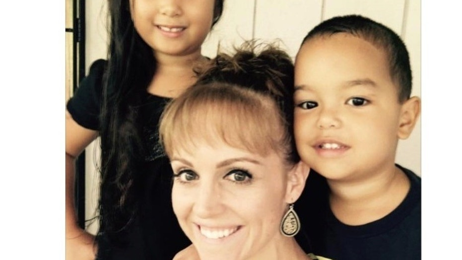 Amber Makuakane said her home was among the properties destroyed by Kilauea's lava. She's a mother of two children.
