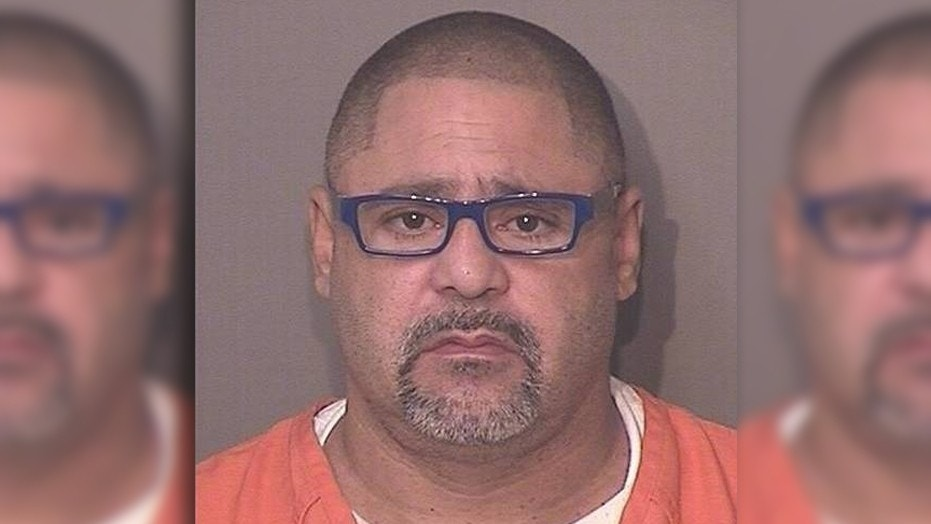 """Jorge Porto-Sierra, 50, was charged Thursday with four counts of premeditated murder, after police say he tried to """"barbecue"""" sex offenders to death."""