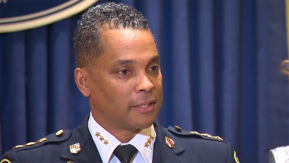 Darryl DeSousa was appointed Baltimore police commissioner earlier this year.