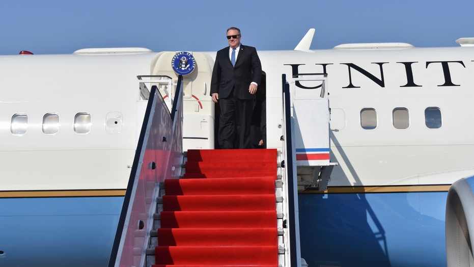 Traveling with Pompeo on secret mission to North Korea