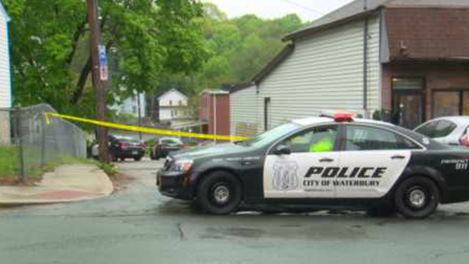 A woman was stabbed to death in Connecticut on Saturday, police said.