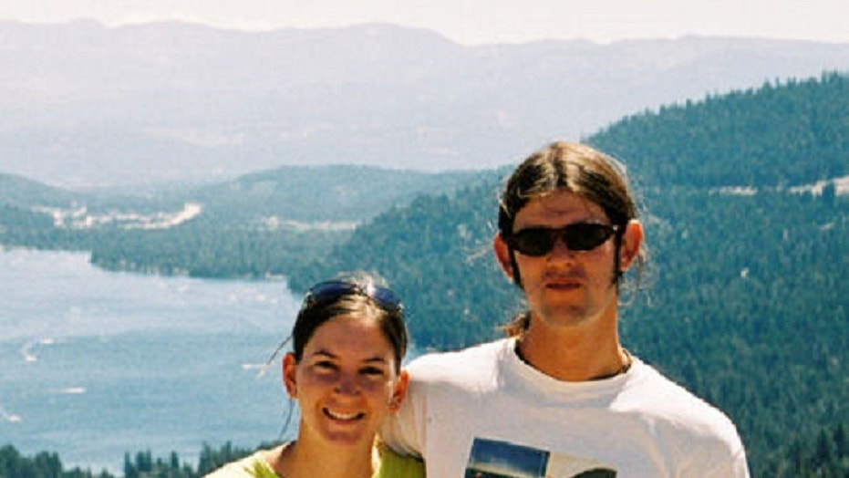 Lindsay Cutshall, left, and Jason Allen, right, were found dead on a secluded beach in Jenner, California on August, 18, 2004.